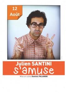 affiche date Santini